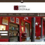 Página web realizada para el Hotel de las Culturas