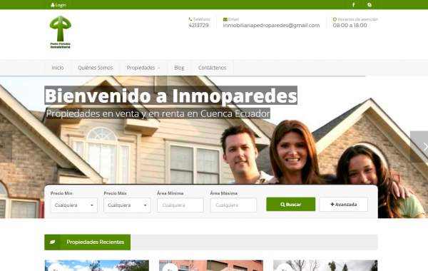 Inmobiliaria Inmoparedes.com